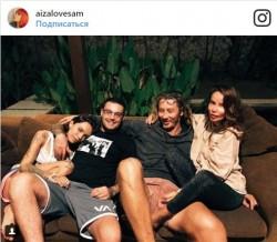 Айза Анохина и Гуф на Бали со своими половинками