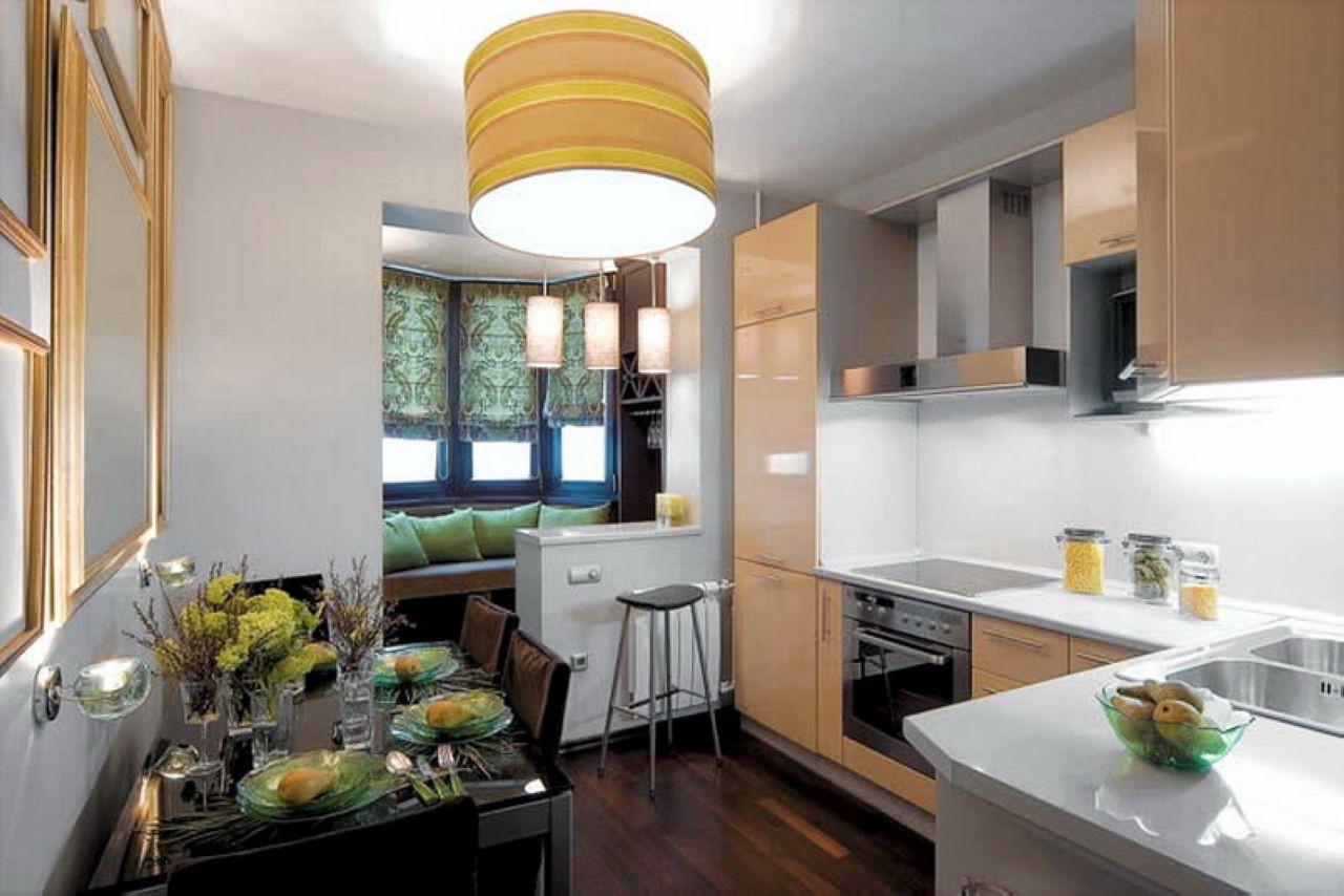 Как правильно совмещать кухню с балконом
